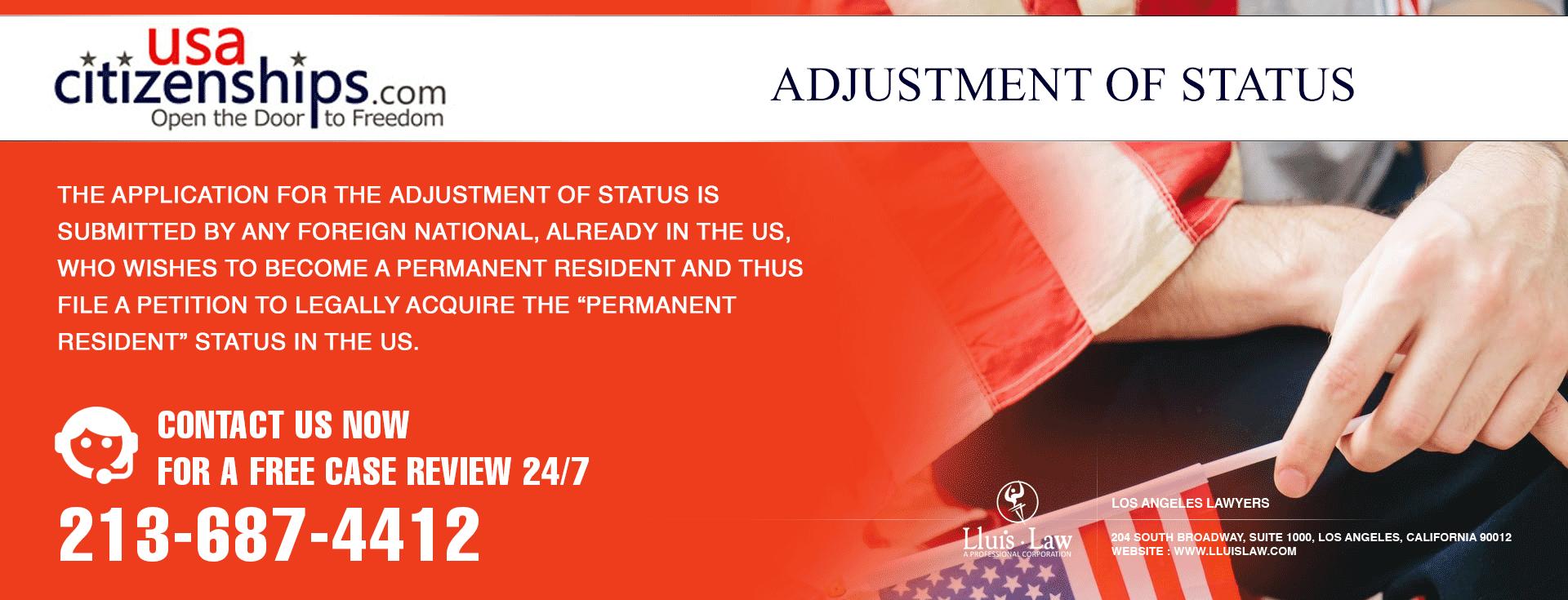 Adjustment of Status fee