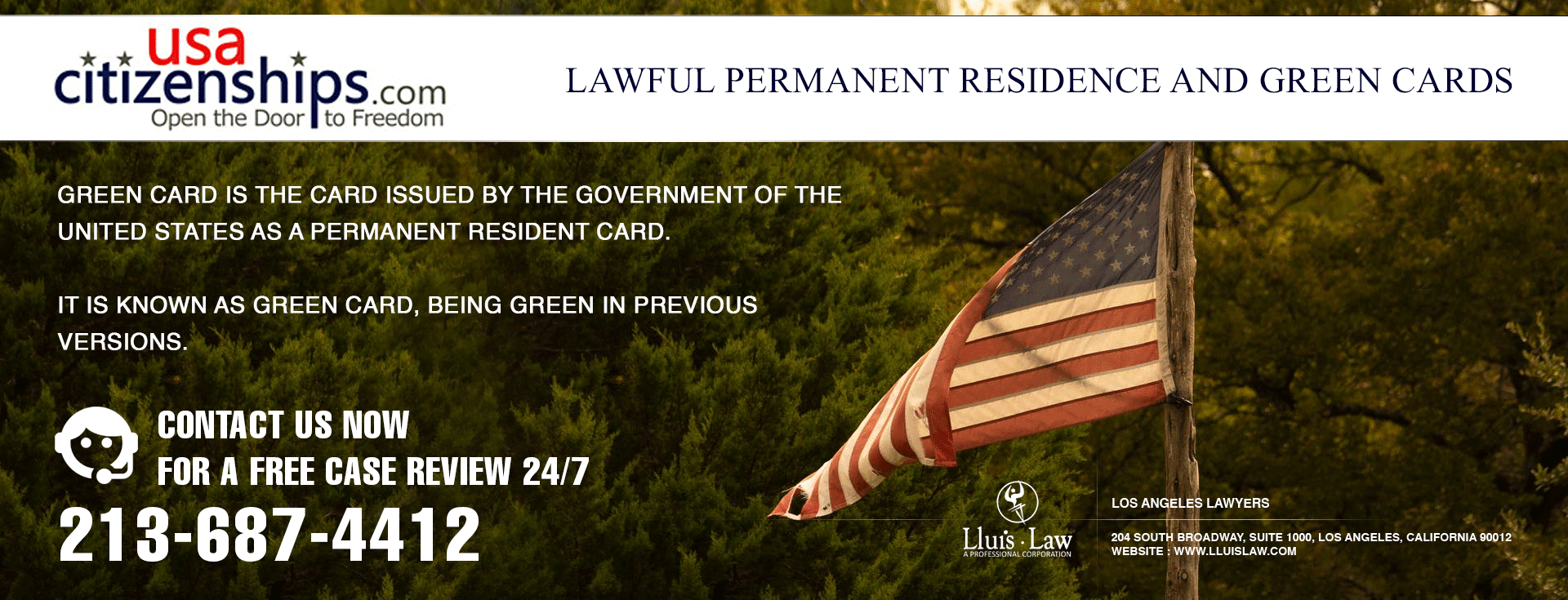 Lawful Permanent Residence and Green Cards