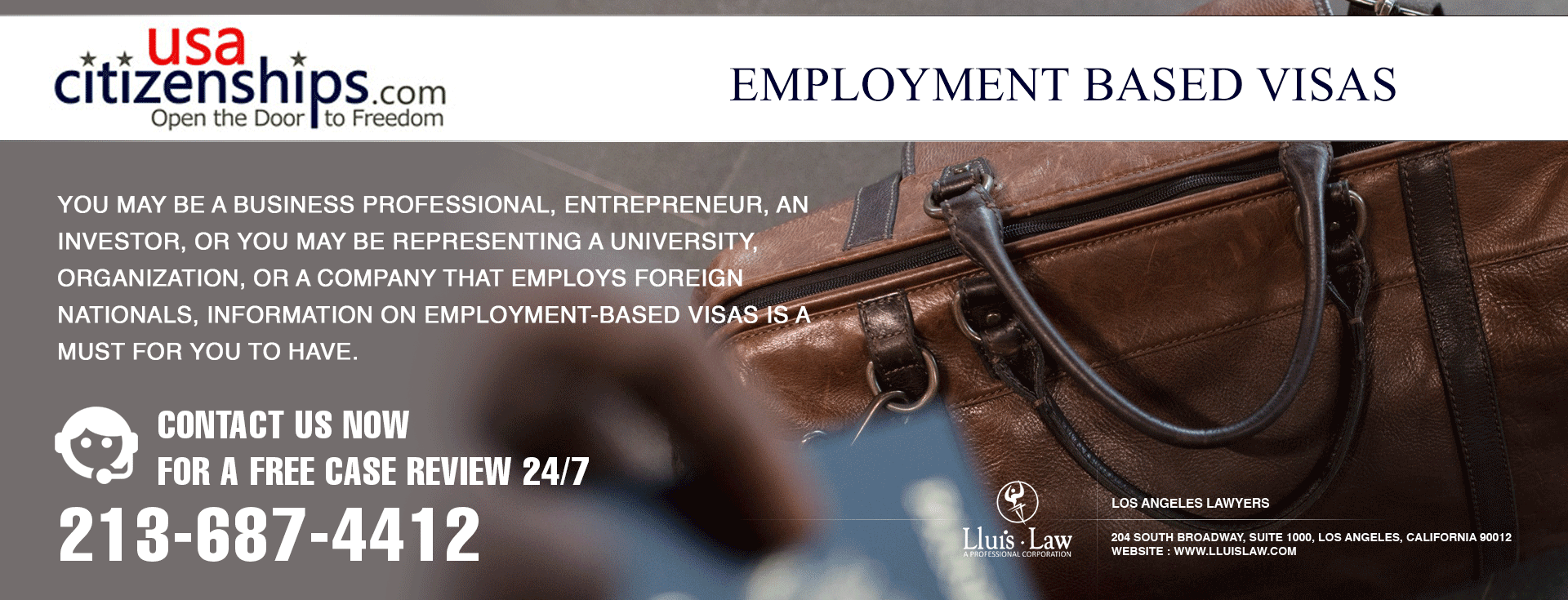 Employment based visa