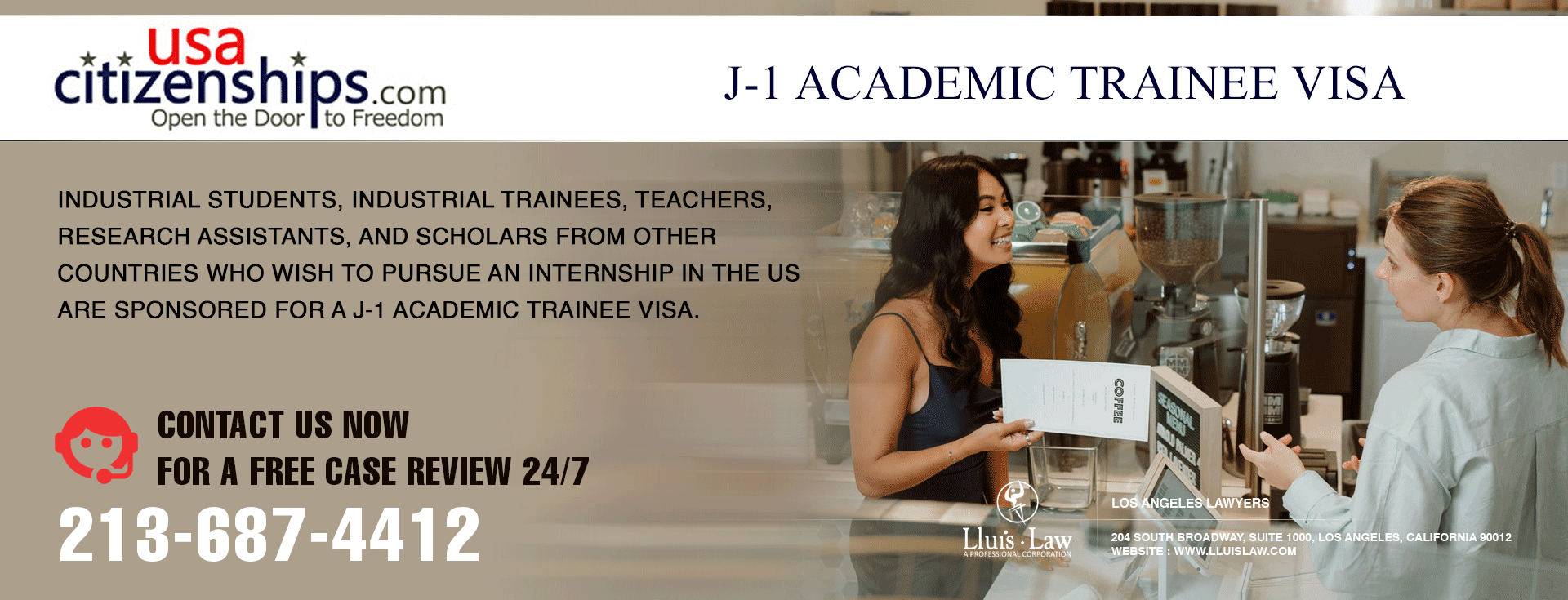 J-1 Academic Trainee Visa